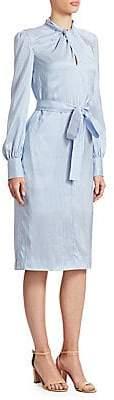 Erdem Women's Amelia Twist-Front Dress