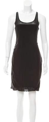 Elizabeth and James Mesh Sleeveless Dress