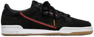 adidas black X TFL continental 80 leather sneakers