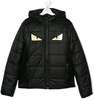 Fendi TEEN embellished padded jacket