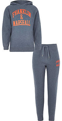 River Island Boys Franklin and Marshall jogger outfit