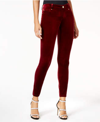 INC International Concepts I.n.c. Curvy Velvet Skinny Pants