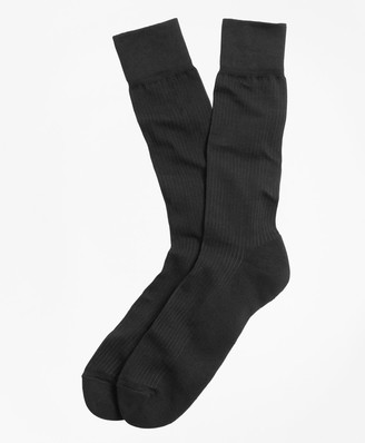 Brooks Brothers Cotton Cushion Sole Socks