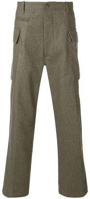 East Harbour Surplus straight leg high waisted trousers