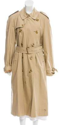 Burberry Structured Trench Coat