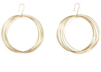 Aurelie Bidermann Thalia Circle Earrings
