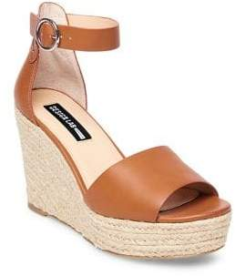 Design Lab Vexed Ankle Strap Wedge Sandals