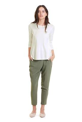 Country Road Satin Back Crepe Wrap Pant