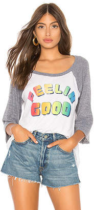 Chaser Feelin Good Baseball Tee