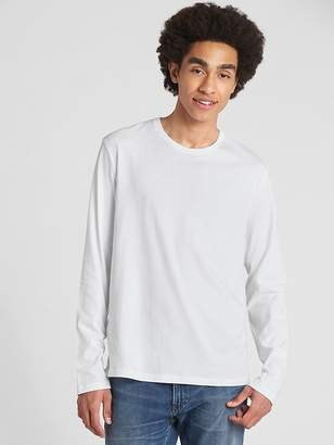 Gap Long Sleeve Crewneck T-Shirt