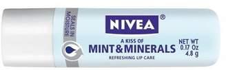 Nivea Lip Care A Kiss Of Mint & Minerals 5 ml (Pack of 6)