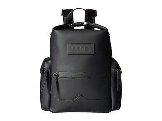 Hunter Mini Top Clip Backpack Rubberized Leather