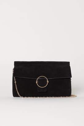 H&M Suede Clutch Bag