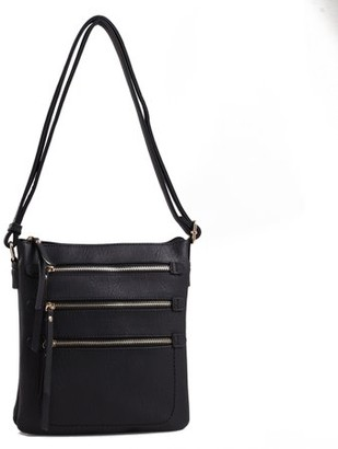 MKF Collection by Mia K Farrow Salome Expandable Multi-Compartment Crossbody