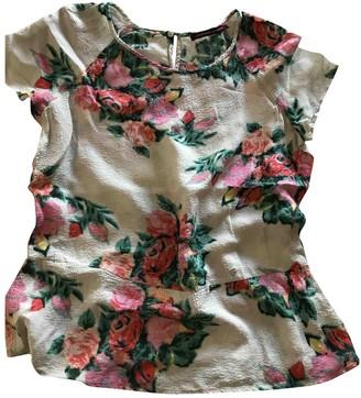 Comptoir des Cotonniers Ecru Cotton Top for Women