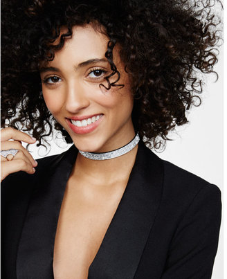 Express rhinestone choker necklace $24.90 thestylecure.com