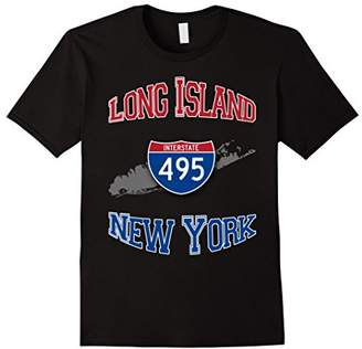 Long Island New York Interstate 495 T-Shirt