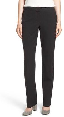 Women's Halogen 'Taylor - Ela' Straight Leg Suit Pants $79 thestylecure.com