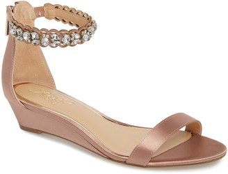 Badgley Mischka Ginger Wedge Sandal