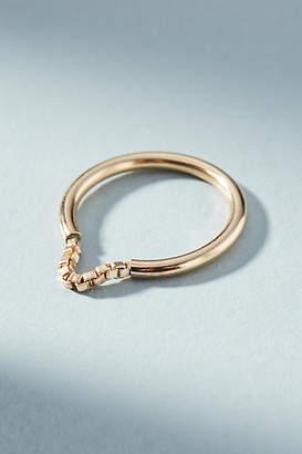 Anthropologie Elizabella Chain Ring