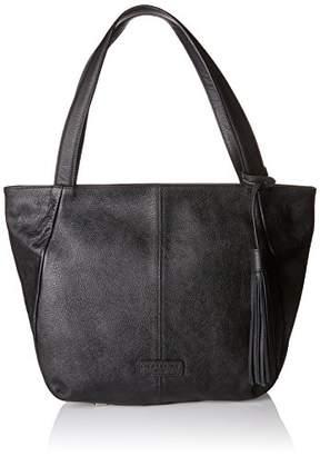 Liebeskind Berlin Women LOUISVILLE ZIPPER Shoulder Bag Black Size: UK
