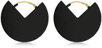 Isabel Marant 90 Degrees Two Tone Earrings