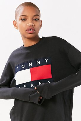 Tommy Jeans For UO '90s Pullover Sweatshirt $129 thestylecure.com