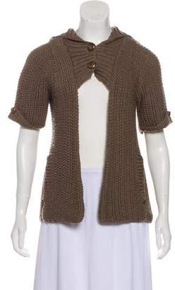 Mayle Wool Short Sleeve Cardigan