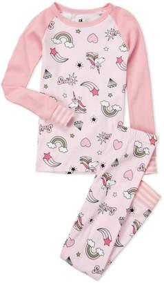 Pl Sleep (Girls 7-16) Two-Piece Unicorn Lover Pajama Set