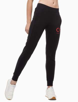 Calvin Klein slim fit logo jogger sweatpants