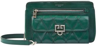 Givenchy Leather Quilted Pocket Cross Body Bag