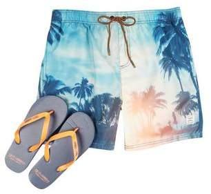Burton Mens Tokyo Laundry Beaumont Swim Shorts Flop Combo*