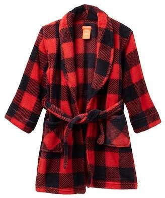 Joe Fresh Plaid Robe (Big Boys)