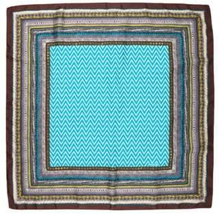 Missoni Printed Silk Scarf Brown Printed Silk Scarf