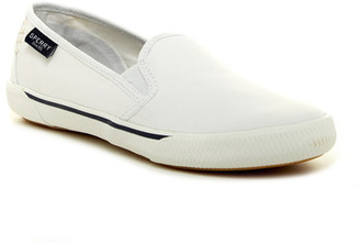 Sperry Quest Cay Canvas Slip-On Sneaker $60 thestylecure.com