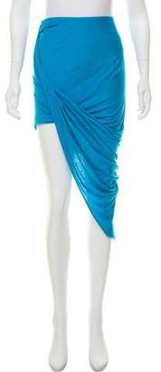 Helmut Lang HELMUT Draped Asymmetrical SkirtCe