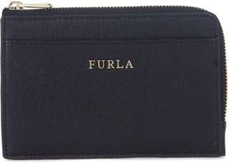 Furla Babylon Black Leather Credit Card Holder