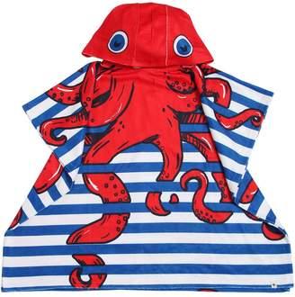 Billybandit Octopus Printed Hooded Terrycloth Towel