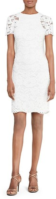 Lauren Ralph Lauren Lace Dress $184 thestylecure.com