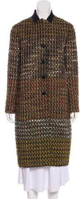 Etro Wool-Blend Boucle Coat