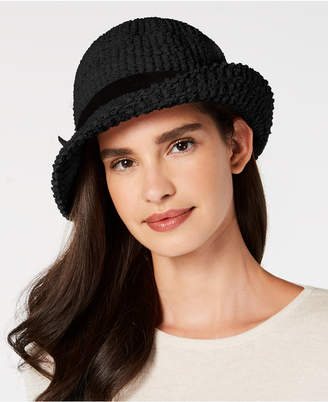 INC International Concepts I.n.c. Heavy Boucle Packable Cloche
