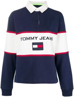 Tommy Jeans polo-style logo sweatshirt