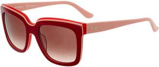 Salvatore Ferragamo Women's Sf758s 54Mm Sunglasses
