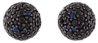 John Hardy Naga Midnight Ball Earrings