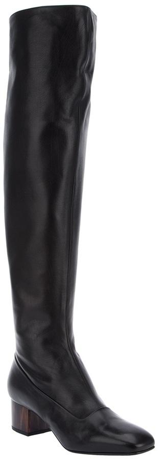 Dries Van Noten knee length boot