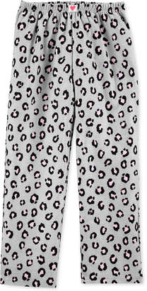 Carter's Carter Big Girls Leopard-Print Fleece Pajama Pants