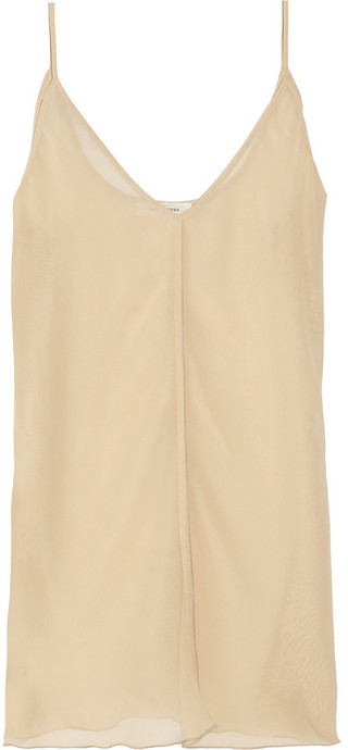 Marc Jacobs Sheer georgette camisole