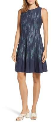 Nic+Zoe Lightning Streaks Twirl Dress