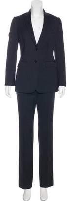 Dolce & Gabbana Pinstripe Tailored Pantsuit
