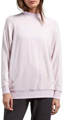 Volcom Lil Mock Neck Fleece Sweatshirt